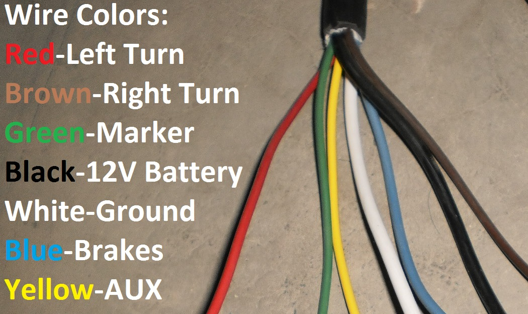 Wiring Diagram Blue Brown : Arctic blue way trailer rv cord cold weather wire double