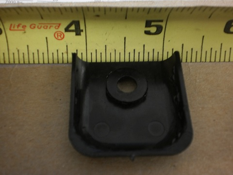 "Camper Wheel Chocks >> 10 - 1"" Universal Black Molding Trim Plastic End Cap RV ..."