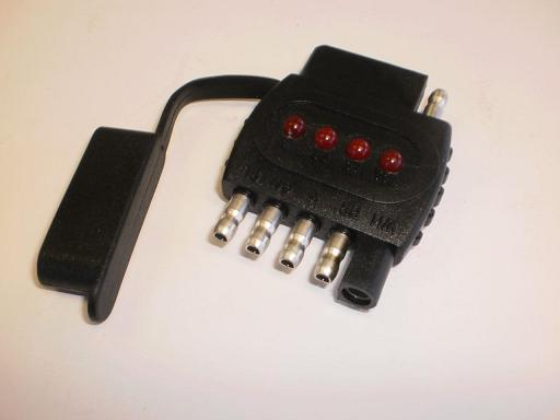 Truck Trailer Light Tester 4 Flat And 5 Flat In