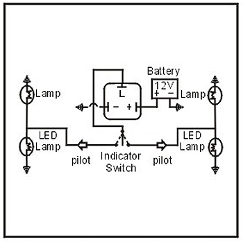 Image result for 3 pin flasher relay