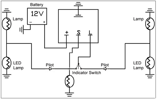 hdf030842 3 pin flasher relay wiring diagram wiring diagram and schematic 12 Volt Flasher Diagram at gsmportal.co