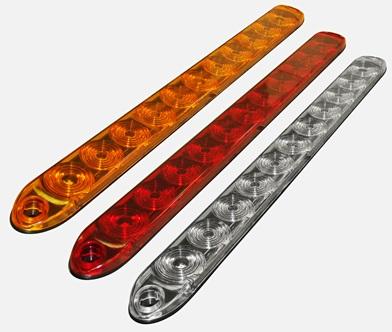 15 slimline white led back up tail reverse light tecniq trailer rv rh ebay com TecNiq Lights TecNiq S170