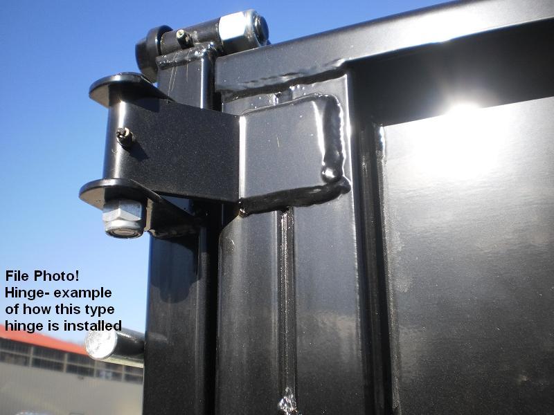 Dump Trailer Parts Hinges Latches : Two heavy duty door hinge dump trailer truck strap
